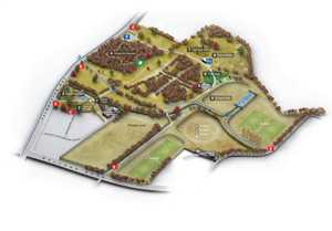 Map of Knighton Park