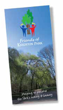 Click to download Friends of Knighton Park leaflet